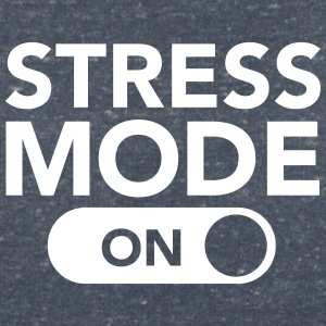 Stress Mode (On) Camisetas - Camiseta con escote en pico mujer