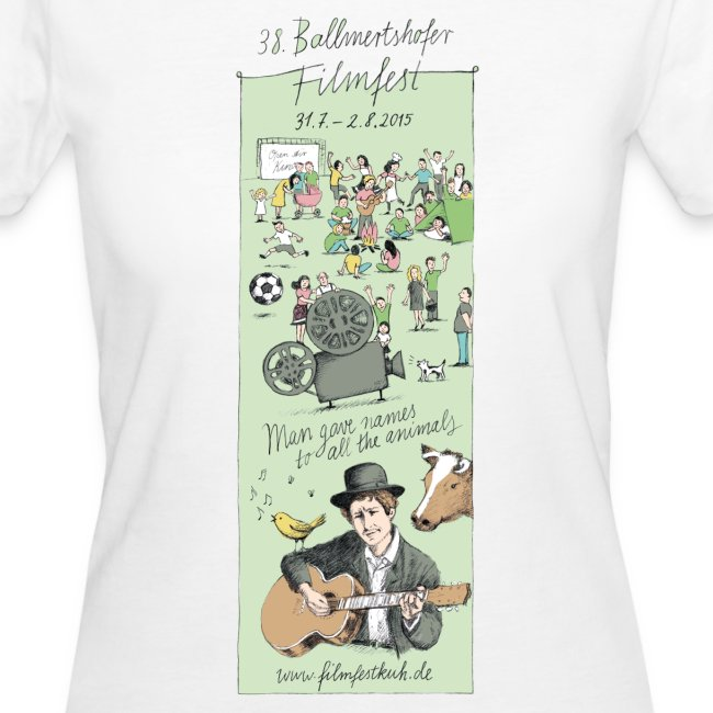 Frauen Bio-T-Shirt 2015
