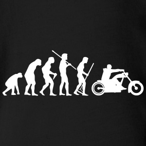 MOTORCYCLE EVOLUTION Tee shirts - Body bébé bio manches courtes
