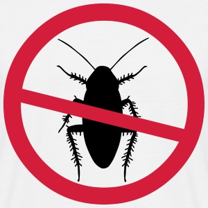 Beware Cockroaches T-Shirts - Men's T-Shirt