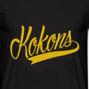 Kokons black t shirt - Men's T-Shirt