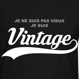 humour vintage Tee shirts - T-shirt contraste Homme
