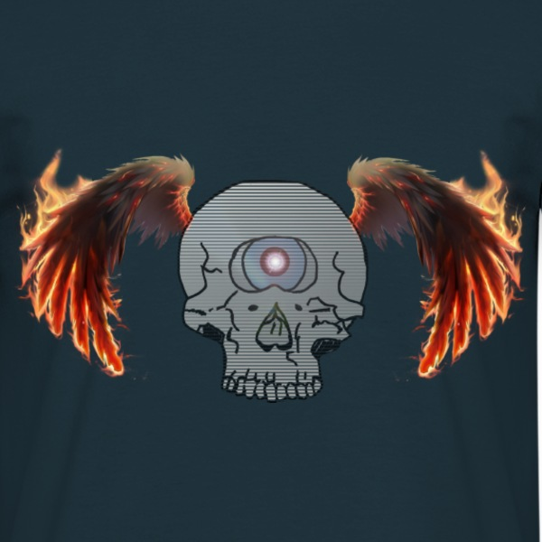 skullcyclop3 T-Shirts - Men's T-Shirt