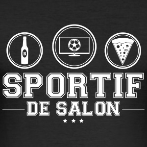 SPORTIF DE SALON T-Shirts - Men's Slim Fit T-Shirt
