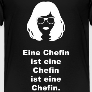 Chefin  - Teenager Premium T-Shirt
