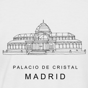 Madrid Kristallpalast s T-Shirts - Männer Baseball-T-Shirt