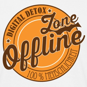 Zone Offline Digital Detox - Männer T-Shirt