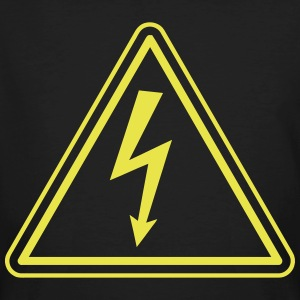 ELECTRICIAN UNDER HIGH VOLTAGE Magliette - T-shirt ecologica da uomo