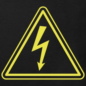 ELECTRICIAN UNDER HIGH VOLTAGE Shirts - Kinderen Bio-T-shirt