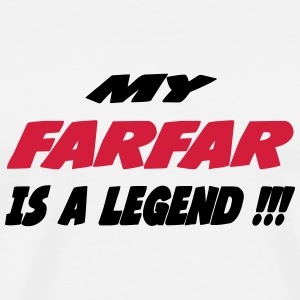 My farfar is a legend !!! 111 T-shirts - Premium-T-shirt herr