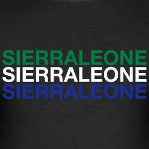 SIERRA LEONE - Slim Fit T-shirt herr