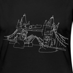 London Tower Bridge w Maglie a manica lunga - Maglietta Premium a manica lunga da donna