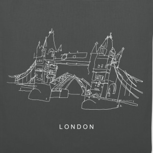 London Tower Bridge w Sacs et sacs à dos - Tote Bag