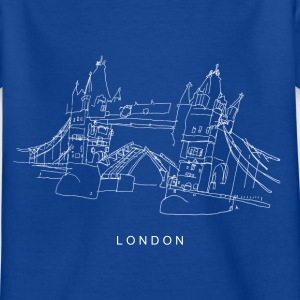 London Tower Bridge w Shirts - Kids' T-Shirt
