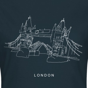 London Tower Bridge w T-Shirts - Frauen T-Shirt