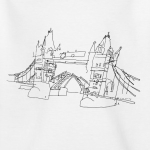 London Tower Bridge  Shirts - Kids' T-Shirt