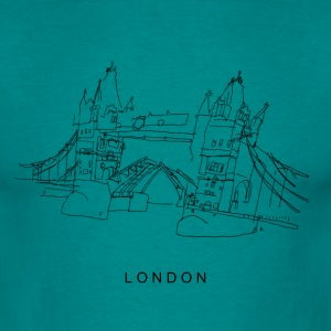 London Tower Bridge  T-Shirts - Men's T-Shirt