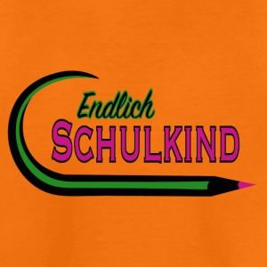 Endlich Schulkind pink T-Shirts - Teenager Premium T-Shirt