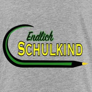 Endlich Schulkind T-Shirts - Teenager Premium T-Shirt