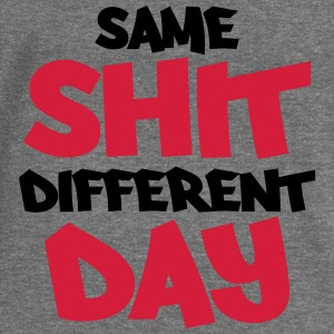 Same shit, different day Pullover & Hoodies - Frauen Pullover mit U-Boot-Ausschnitt von Bella