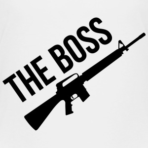 The Boss / Armée / Militaire / Arme / Guerre Shirts - Teenager Premium T-shirt