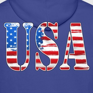 USA - United States - Sweat-shirt à capuche Premium pour hommes