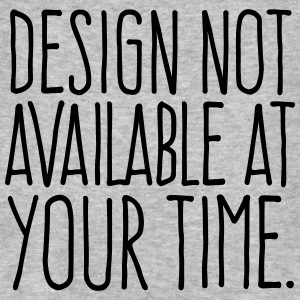 Design not available at your time - pure T-Shirts - Männer Bio-T-Shirt