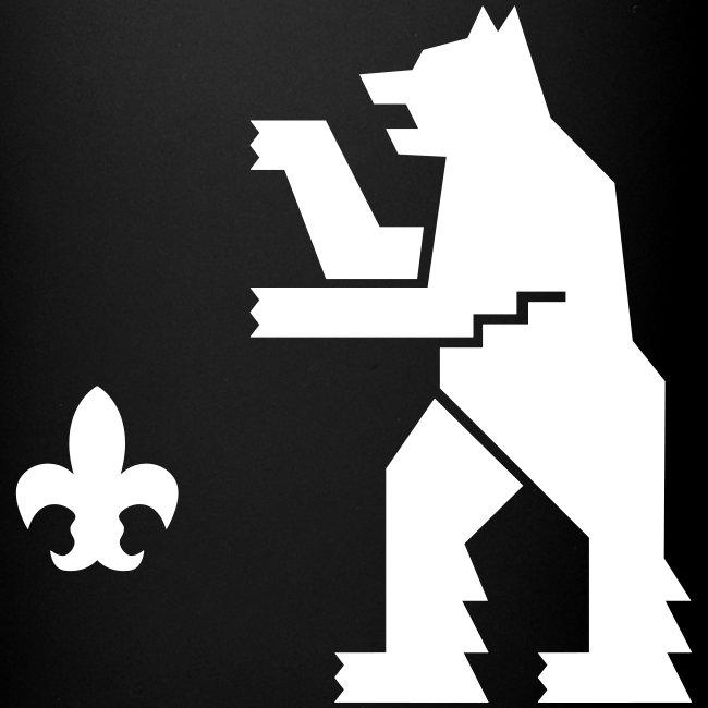 Muki,valkoinen logo