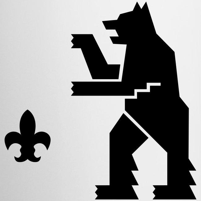 Muki,musta logo