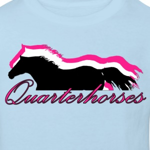 Quarterhorses - Kinder Bio-T-Shirt