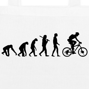 BIKE EVOLUTION Bags & Backpacks - EarthPositive Tote Bag