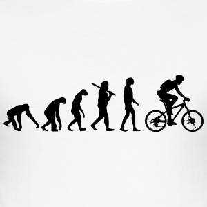 FIETS EVOLUTION T-shirts - slim fit T-shirt