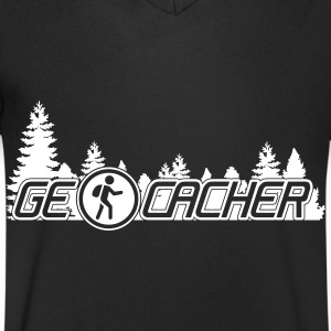 Geocachers T-Shirts - Men's V-Neck T-Shirt