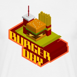 burger day T-Shirts - Männer T-Shirt