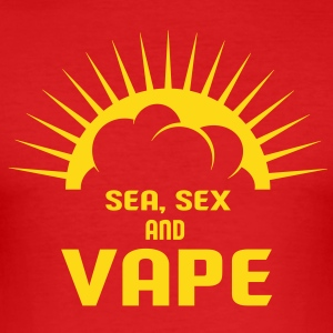 SEA SEX AND VAPE Tee shirts - Tee shirt près du corps Homme