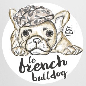 White French Bulldog Mugs & Drinkware - Beer Mug