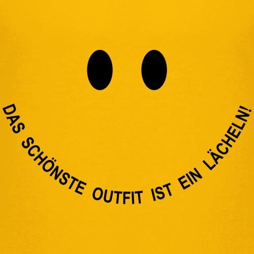 Smiley: Das schönste Outfit ist ein Lächeln!