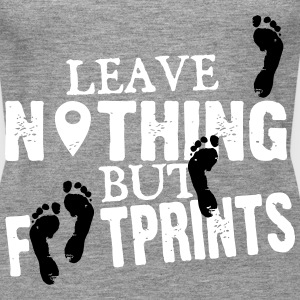 Geocaching: leave nothing but footprints Tops - Women's Premium Tank Top