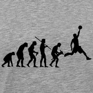 BASKETBALL EVOLUTION T-Shirts - Männer Premium T-Shirt