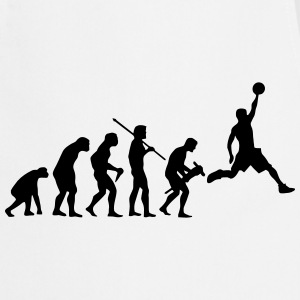 BASKETBALL EVOLUTION Kookschorten - Keukenschort