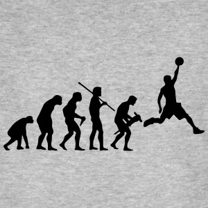 BASKETBALL EVOLUTION T-Shirts - Männer Bio-T-Shirt