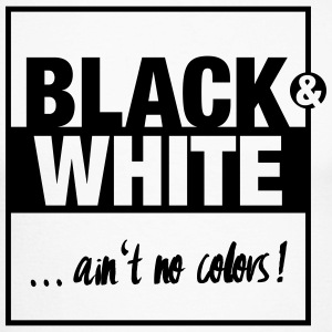 Black and White … ain't no colors! Langarmshirts - Männer Baseballshirt langarm