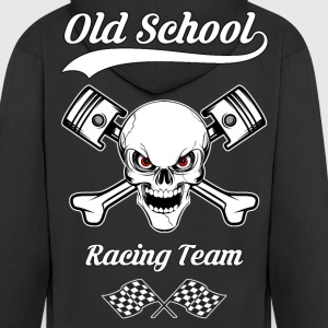 old school racing team 04 Sweat-shirts - Veste à capuche Premium Homme