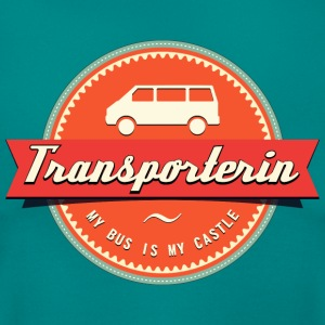 Transporterin Retro T-Shirts - Frauen T-Shirt