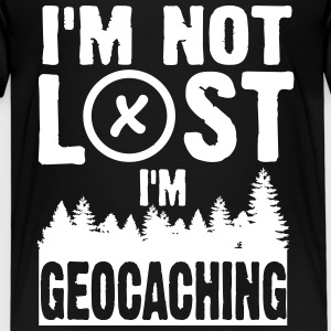 I'm not lost. I'm geocaching Tee shirts - T-shirt Premium Enfant
