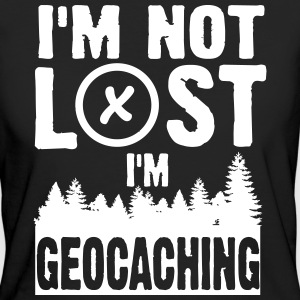I'm not lost. I'm geocaching T-shirts - Vrouwen Bio-T-shirt