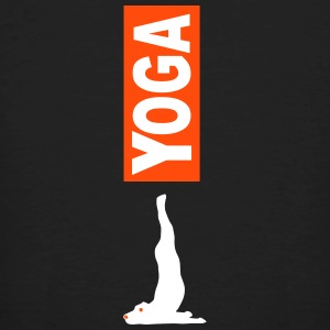 Yoga Dog 1 - Men's Organic T-shirt