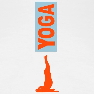Yoga Dog 1 - Women's Premium T-Shirt