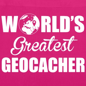 World's greatest geocacher Borse & zaini - Borsa ecologica in tessuto