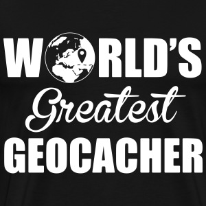 World's greatest geocacher Camisetas - Camiseta premium hombre